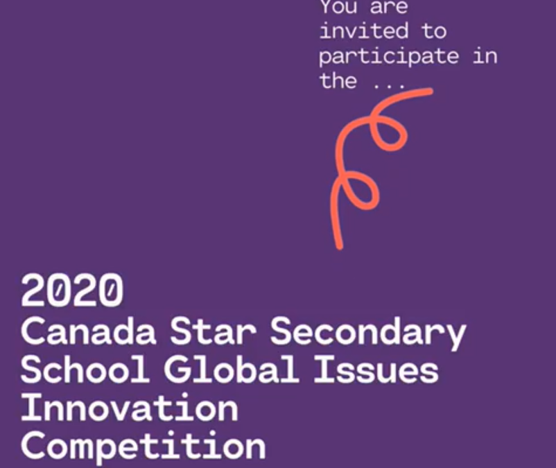 2020 Global Issues Innovation Competition
