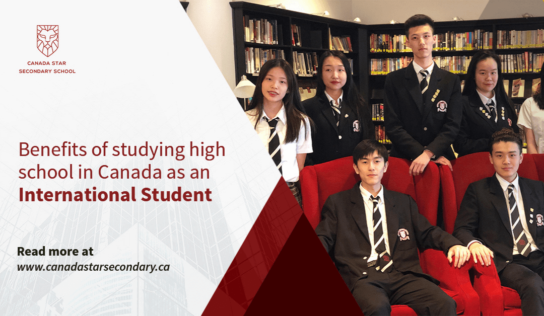 Benefits of studying high school in Canada as an International Student