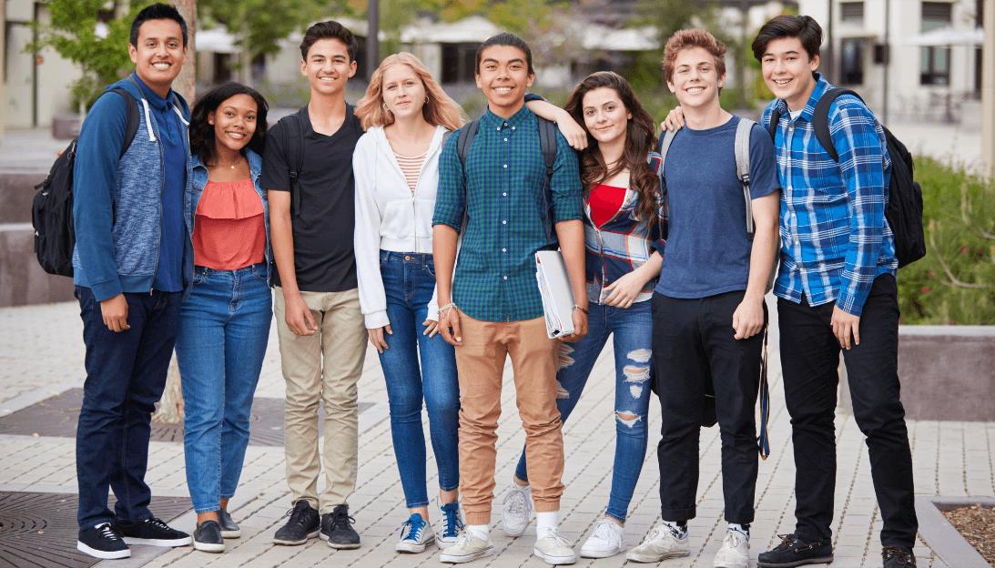 International High School Students
